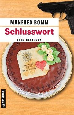 Schlusswort - Bomm, Manfred