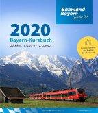 Bayern-Kursbuch 2020, m. 2 Ktn.
