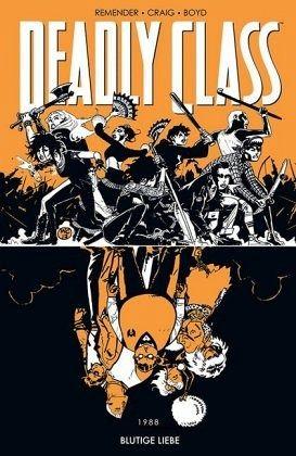 Buch-Reihe Deadly Class