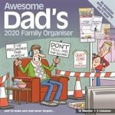 Awesome Dads Family Organiser Square Wall Planner Calendar 2020