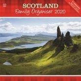 Scotland Family Organiser Square Wall Planner Calendar 2020