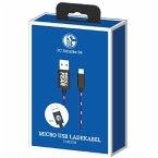 snakebyte Micro USB Ladekabel FC Schalke 04, für PS4/Xbox One