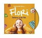 Flori - Retterin in der Not - Hörbuch, 1 Audio-CD