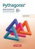 Pythagoras 8. Jahrgangsstufe - Realschule Bayern (WPF I) - Arbeitsheft mit eingelegten Lösungen
