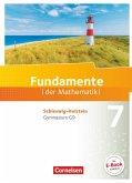 Fundamente der Mathematik 7. Schuljahr - Schleswig-Holstein G9 - Schülerbuch