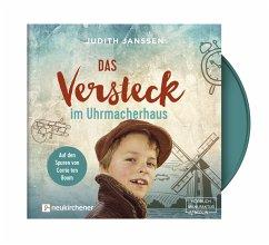Das Versteck im Uhrmacherhaus, 1 Audio-CD - Janssen, Judith