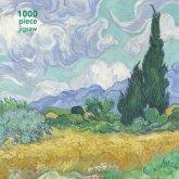 Weizenfeld mit Zypressen (Puzzle)