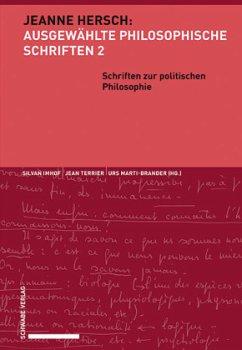Schriften zur politischen Philosophie - Hersch, Jeanne