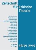 Zeitschrift für kritische Theorie, Heft 48/49 (eBook, ePUB)