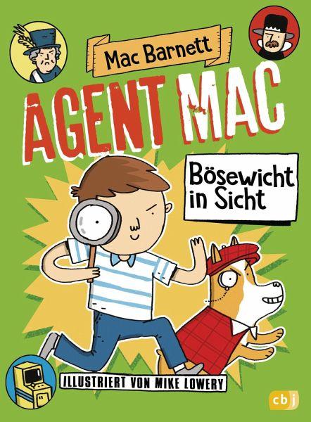 Buch-Reihe Agent Mac
