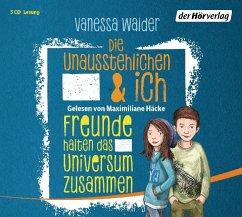 Freunde halten das Universum zusammen / Die Unausstehlichen & ich Bd.2 (3 Audio-CDs) - Walder, Vanessa