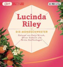 Die Mondschwester / Die sieben Schwestern Bd.5 (2 MP3-CDs) - Riley, Lucinda
