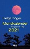 Mondkalender für jeden Tag 2021 Abreißkalender