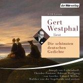 Gert Westphal liest: Die schönsten deutschen Gedichte, 4 Audio-CD