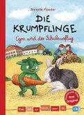 Die Krumpflinge - Egon und der Schulausflug / Erst ich ein Stück, dann du Bd.40