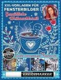XXL Vorlagen für Fensterbilder, Gemütliche Weihnachtszeit von Bine Brändle