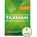 TAXMAN 2020 Rentner & Pensionäre (für Steuerjahr 2019) (Download für Windows)