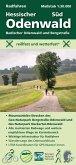 Radfahren, Hessischer Odenwald Süd / Badischer Odenwald und Bergstraße, m. 1 Buch