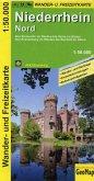 Niederrhein Nord Wander- und Freizeitkarte