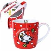Sheepworld 45731 Kaffee-Tasse Glücksbringer, mit Geschenk-Banderole