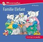 Familie Elefant, 1 Audio-CD (Mängelexemplar)