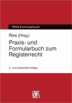 Praxis- und Formularbuch zum Registerrecht (eBook, ePUB)