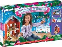 PLAYMOBIL 70383 Großer Adventskalender Weihnachten im Stadthaus