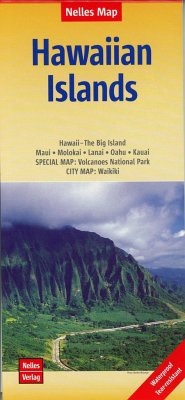 Nelles Map Landkarte Hawaiian Islands