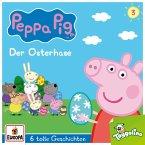 Peppa Pig - Der Osterhase (und 5 weitere Geschichten), 1 Audio-CD