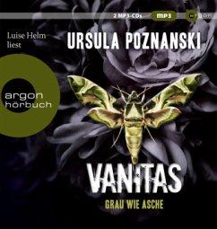 Grau wie Asche / Vanitas Bd.2 (1 MP3-CD) - Poznanski, Ursula