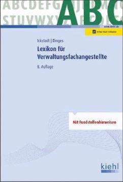 Lexikon für Verwaltungsfachangestellte - Ickstadt, Ewald;Dinges, Marvin