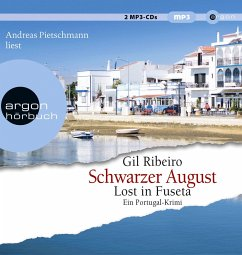 Schwarzer August / Leander Lost Bd.4 (2 MP3-CDs) - Ribeiro, Gil