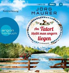 Am Tatort bleibt man ungern liegen / Kommissar Jennerwein ermittelt Bd.12 (1 MP3-CDs) - Maurer, Jörg