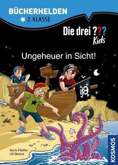 Die drei ??? Kids, Bücherhelden 2. Klasse, Ungeheuer in Sicht! (drei Fragezeichen Kids) (eBook, PDF) - Blanck, Ulf; Pfeiffer, Boris