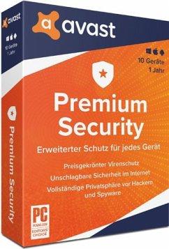 Avast Premium Security 2020 (10 Geräte/1 Jahr)