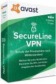 Avast SecureLine VPN 2020 (5 Geräte/1 Jahr)