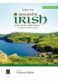 Sounds Irish, für Flöte und Klavier - Rae, James