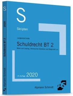 Skript Schuldrecht BT 2 - Langkamp, Tobias;Lüdde, Jan S.
