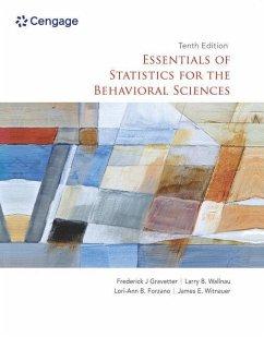 Essentials of Statistics for the Behavioral Sciences - Wallnau, Larry;Gravetter, Frederick;Witnauer, James
