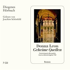 Geheime Quellen / Commissario Brunetti Bd.29 (Audio-CD) - Leon, Donna