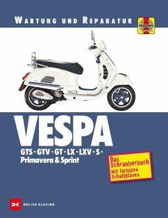 Vespa GTS, GTV, GT, LX, LXV, S, Primavera & Sprint - Coombs, Matthew