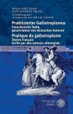Praktizierter Gallotropismus / Pratique du gallotropisme (eBook, PDF)