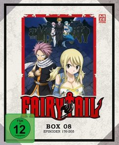 Fairy Tail - TV-Serie - Blu-ray-Box 8 (Episoden 176-203) (3 Blu-rays)