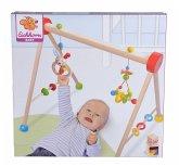 Eichhorn 100017034 - Baby Gym mit Hasenmotiv, Hängeelement, Reck, Trapez