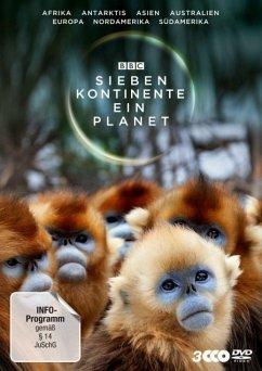 Sieben Kontinente - Ein Planet - Attenborough,David (Presenter)