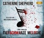 Tiefschwarze Melodie / Zons-Thriller Bd.5 (1 MP3-CD)
