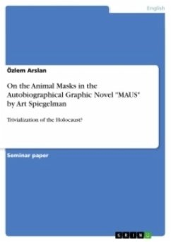 On the Animal Masks in the Autobiographical Graphic Novel