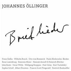 Brieflieder - Johannes Öllinger