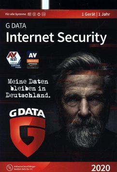 G-Data Internet Security 2020, 1 PC, 1 CD-ROM