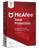 McAfee Total Protection, 1 Gerät, Code in a Box